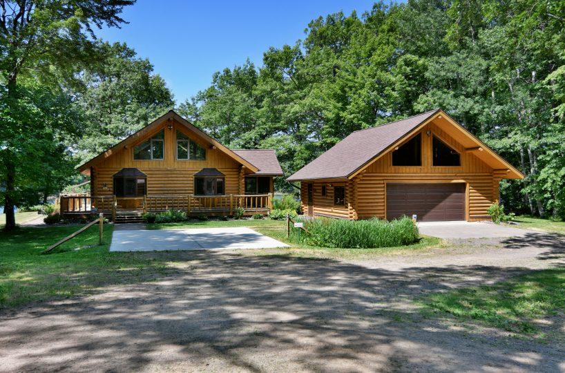 Sarona Wisconsin Lake Home for Sale