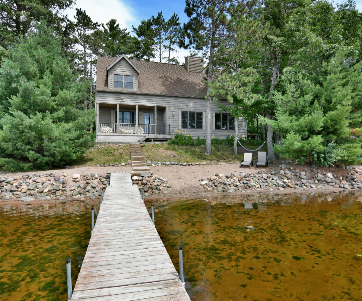 Stone Lake, Wisconsin Lake Home for Sale