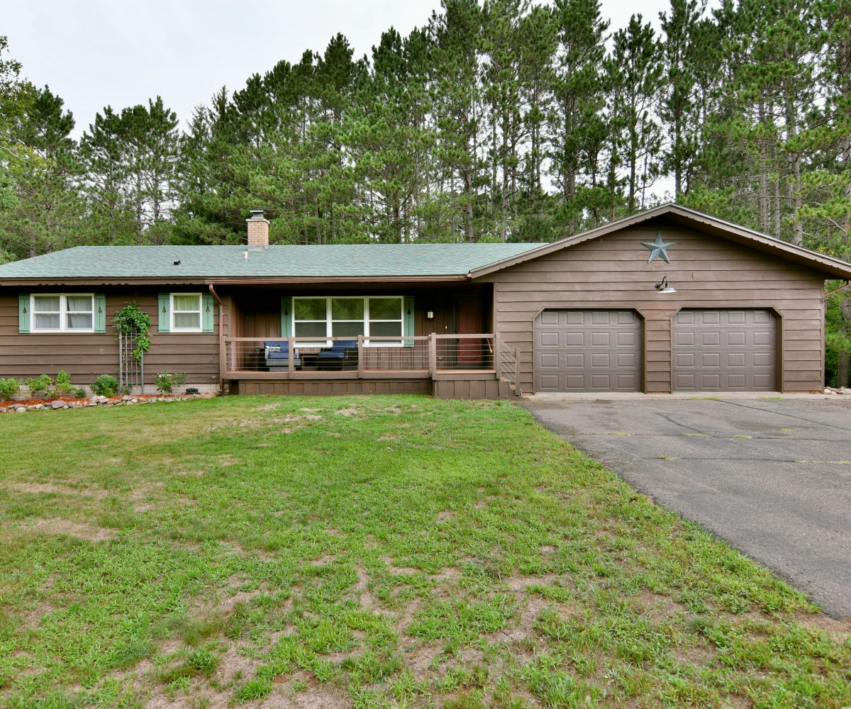 Trego, WI Country Home for Sale
